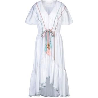 《セール開催中》PETER PILOTTO レディース ミニワンピース&ドレス ホワイト 14 コットン 100%