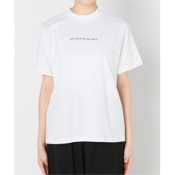 AP STUDIO 【LES COYOTES DE PARIS】ハイ N/C ロゴTシャツ ホワイト フリー