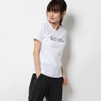 アディダス adidas レディース 半袖Tシャツ W グラフィックTシャツ FM6177