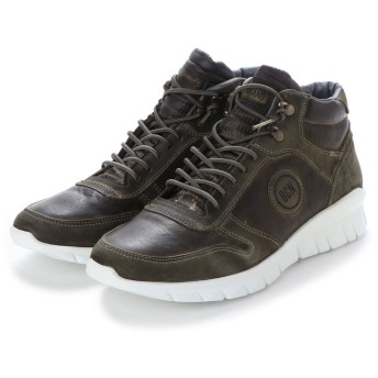 ヨーロッパコンフォートシューズ EU Comfort Shoes BCN ハイカットスニーカー(C-1040) (ブラック)