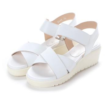 ヨーロッパコンフォートシューズ EU Comfort Shoes Palanti サンダル(5445) (ホワイト)
