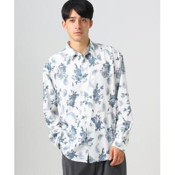 tk.TAKEO KIKUCHI(ティーケー タケオ キクチ) フラワーフェザーオーバーサイズシャツ