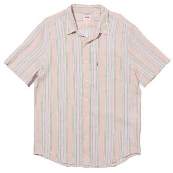リーバイス S/S SUNSET 1ポケットシャツ STANDRD AIDEN FARALLON メンズ NEUTRALS M- 【Levi's】