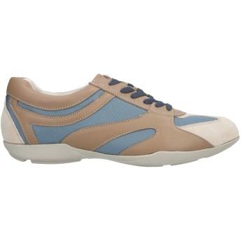 《セール開催中》IMPRONTE メンズ スニーカー&テニスシューズ(ローカット) カーキ 45 革 / 紡績繊維