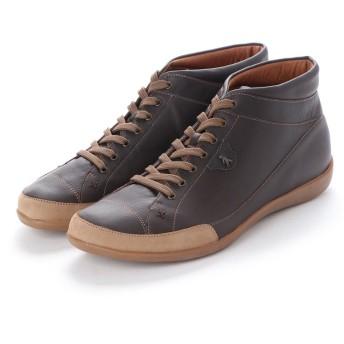 ヨーロッパコンフォートシューズ EU Comfort Shoes Benvado ハイカットスニーカー(24052) (ダークブラウン)