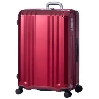 カバンのセレクション アジアラゲージ デカかる スーツケース Lサイズ 94L/112L ストッパー付き 軽量 ali 008 28w ユニセックス レッド フリー 【Bag & Luggage SELECTION】