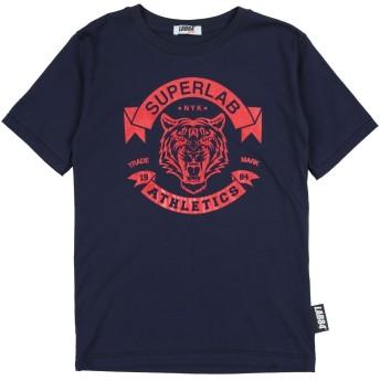 《セール開催中》LAB84 ボーイズ 9-16 歳 T シャツ ダークブルー 10 コットン 100%