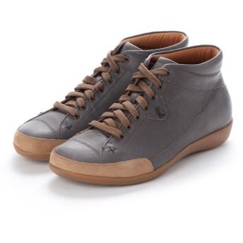 ヨーロッパコンフォートシューズ EU Comfort Shoes Benvado ハイカットスニーカー(24052) (ダークグレー)