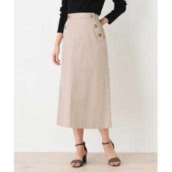 【OPAQUE. CLIP:スカート】【洗える】チノマリンスカート