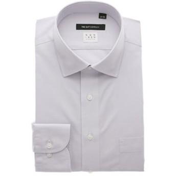 【THE SUIT COMPANY:トップス】【NON IRON STRETCH】ワイドカラードレスシャツ 無地 〔EC・BASIC〕