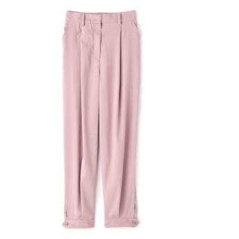 ヘムタックパンツ ピンク