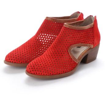 ヨーロッパコンフォートシューズ EU Comfort Shoes Casta パンチングパンプス(CT100500) (レッド)