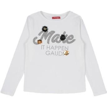 《セール開催中》GAUD ガールズ 9-16 歳 T シャツ ホワイト 10 コットン 95% / ポリウレタン 5%