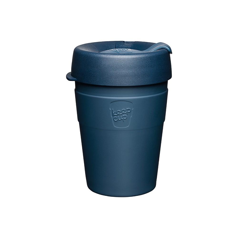 澳洲 KeepCup 雙層真空隨身杯M - 優雅藍