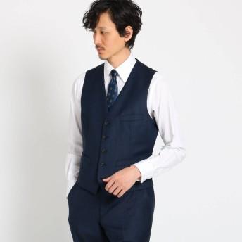タケオ キクチ TAKEO KIKUCHI 【Sサイズ〜】シャイニーシャークピンヘッドべスト Fabric by MIYUKI KEORI (ダークネイビー)