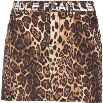 《セール開催中》GALLE Paris レディース ミニスカート ベージュ 28 コットン 97% / ポリウレタン 3%