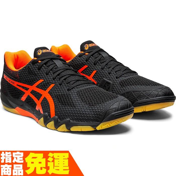 ASICS 男羽球鞋 GEL-BLADE 7系列 高階 1071A029-001 贈運動襪 20SSO【樂買網】