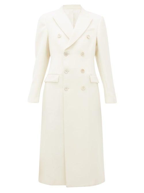 Wardrobe. nyc - Release 05 Double-breasted Merino-wool Coat - Womens - White
