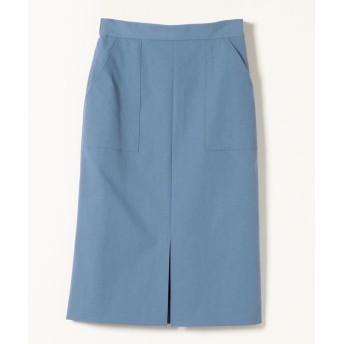 【30%OFF】 シップス SHIPS any:ポケットタイトスカート レディース ブルー 36 【SHIPS】 【セール開催中】