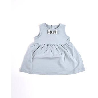 (birthday party/バースデーパーティ)リボン付きジャンパースカート(70cm~90cm)/ グリーン