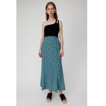 【MOUSSY:スカート】VINTAGE FLOWER ロングスカート