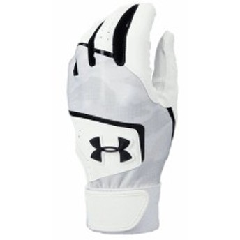 アンダーアーマー:【メンズ】クリーンアップ8 バッティンググローブ【UNDER ARMOUR 野球 バッティング手袋】