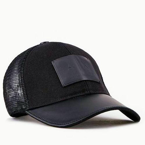 【A/X】2020阿瑪尼標誌Logo款黑色網狀帽子【預購】