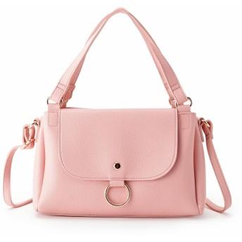 pink adobe(ピンクアドベ)/リングフラップ2WAYショルダーバッグ