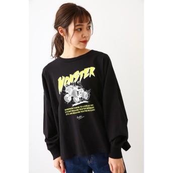【ロデオクラウンズ/RODEO CROWNS】 Monster Truck L/S Tシャツ
