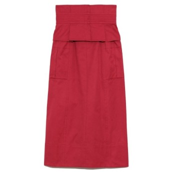 【40%OFF】 リリーブラウン ベルト付きタイトスカート レディース RED 1 【Lily Brown】 【セール開催中】