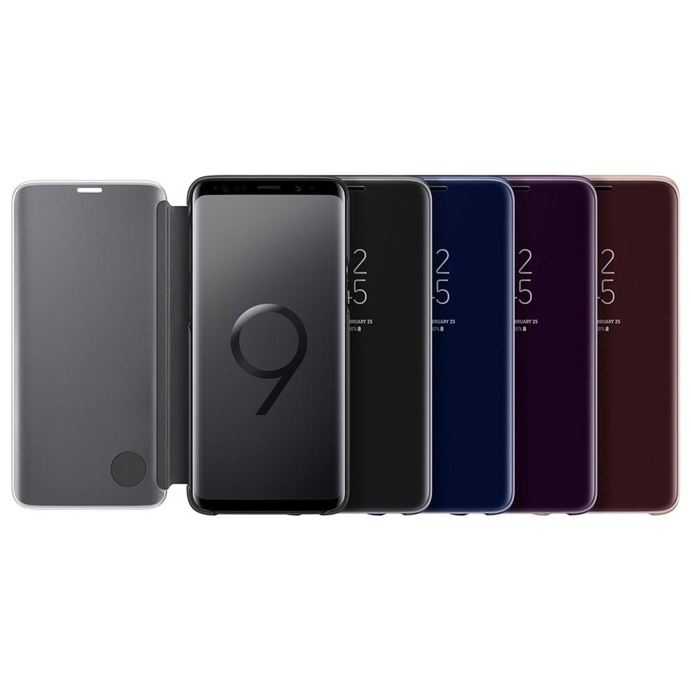 「原廠公司貨」Samsung 三星 Galaxy S9 全透視感應皮套(立架式) EF-ZG960CBEGWW