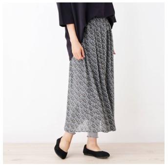 【シューラルー/SHOO・LA・RUE】 レギンス付柄スカート