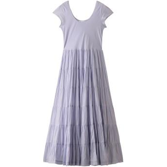 MARIHA マリハ 草原の虹のドレス(ショートスリーブ) ブルーカルセドニー