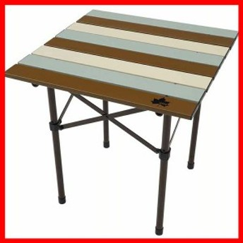 LOGOSLife ロールサイドテーブル(ヴィンテージ) 73185013 ロゴス 【B】 アウトドアテーブル 組立簡単 オートレッグ キャンプテーブル