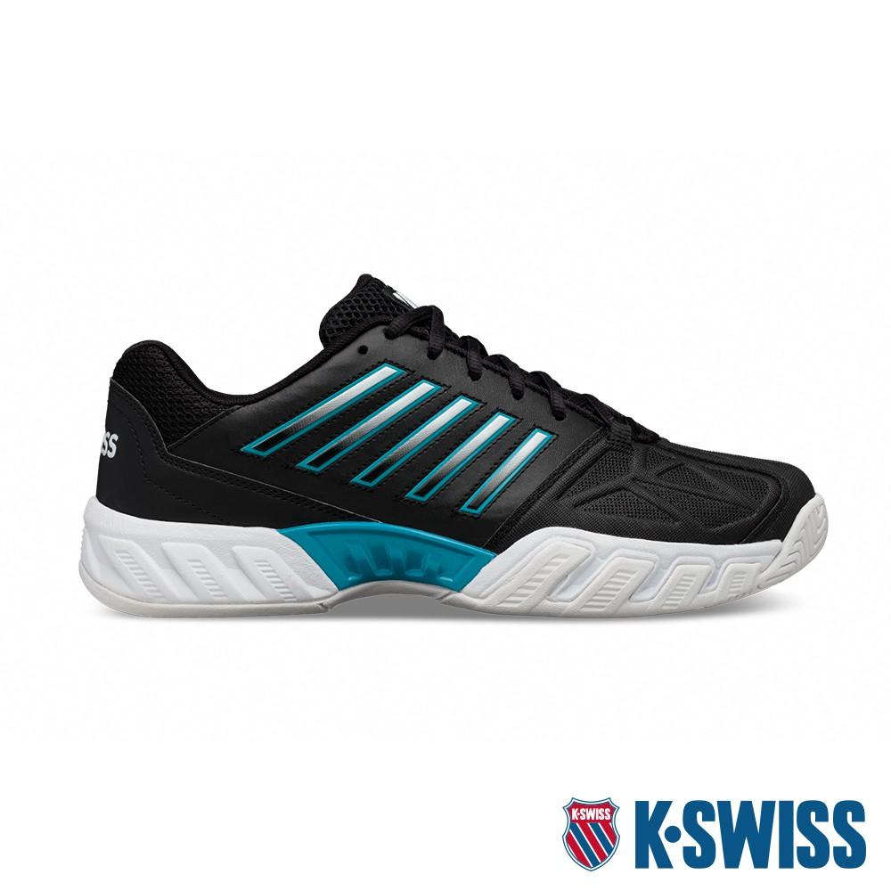 K-SWISS Bigshot Light 3輕量進階網球鞋-男-黑/藍