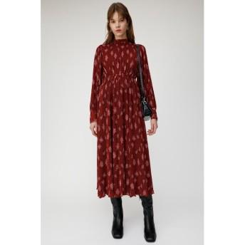 【マウジー/MOUSSY】 FLORAL PLEATS ドレス
