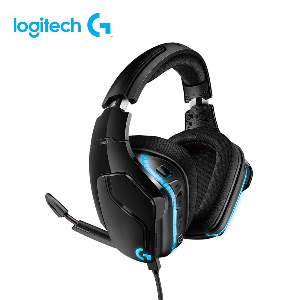 Logitech羅技 G633s 7.1 聲道LIGHTSYNC電競耳機麥克風