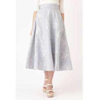 JILLSTUART / ジルスチュアート ミシェル刺繍ロングスカート