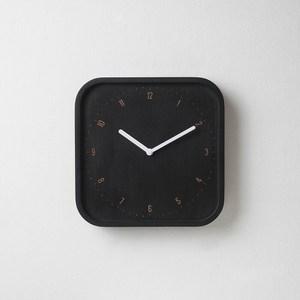 pana objects|美好日常-掛鐘(黑方鐘白針)
