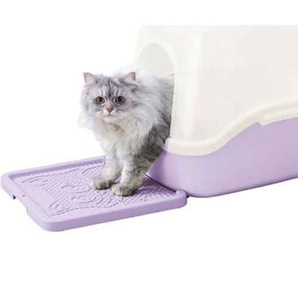 日本richell卡羅貓踏板米色56123/紫色56121/土耳其藍56125