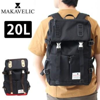 二年保証マキャベリック MAKAVELIC DOUBLE BELT PMD MIX DAYPACK 3120-10108 ダブルベルト PMD デイパック リュックサック
