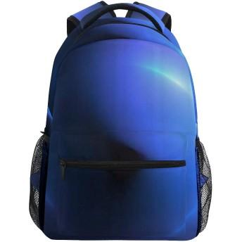 GUKISALA リュックサック、3 Dレンダリングフラクタル光背景、バックパック 男女兼用 アウトドア旅行バッグ オシャレ 可愛い 通勤 通学用 軽量 高校生