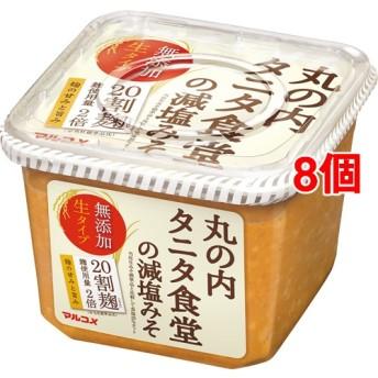 丸の内タニタ食堂の減塩みそ (650g8個セット)