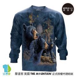 美國進口The Mountain 尋十三熊群 純棉長袖T恤