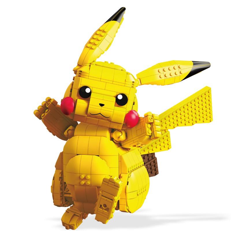 Mega Bloks美國積木 美高創建寵物小精靈比卡超 玩具反斗城