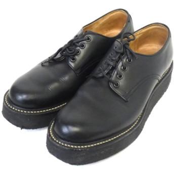 foot the coacher ラバーソールシューズ ブラック サイズ:7 1/2 (新宿店) 200215
