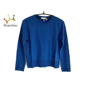 ジユウク 自由区/jiyuku 長袖セーター サイズ38 M レディース 美品 ネイビー 新着 20200214