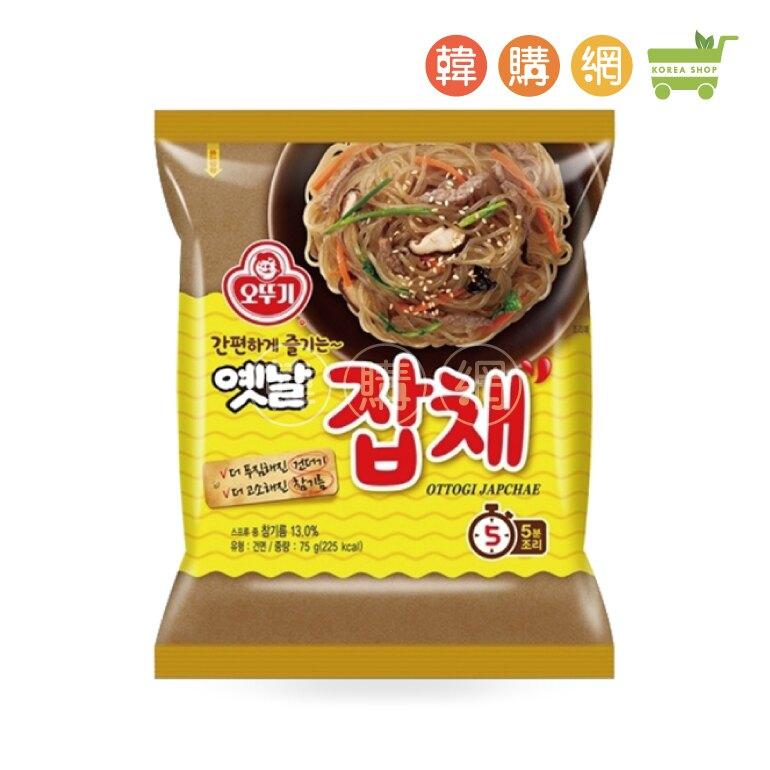 韓國不倒翁(OTTOGI)乾拌冬粉75g【韓購網】[JB00069]