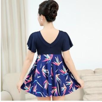 カシュクールワンピース 大きいサイズ 4サイズ シフォンスリーブ Vネック ドッキングワンピースドレス パーティー キャバ 袖あり 大きい