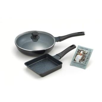 タマハシ(TAMAHASHI) 『たいめいけん』アルミ鋳物フライパン26cm&玉子焼 TM-125 (1363428)